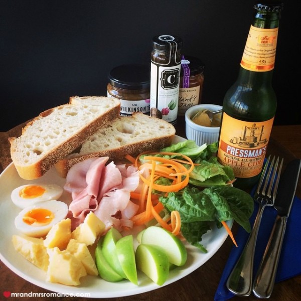 Mr & Mrs Romance - Insta Diary - 4 ploughman's lunch