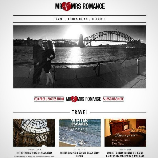 Mr & Mrs Romance - Insta Diary - 5 new site design