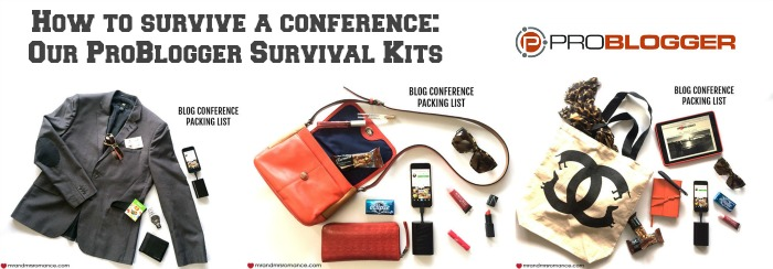 Mr & Mrs Romance - ProBlogger Survival Kit
