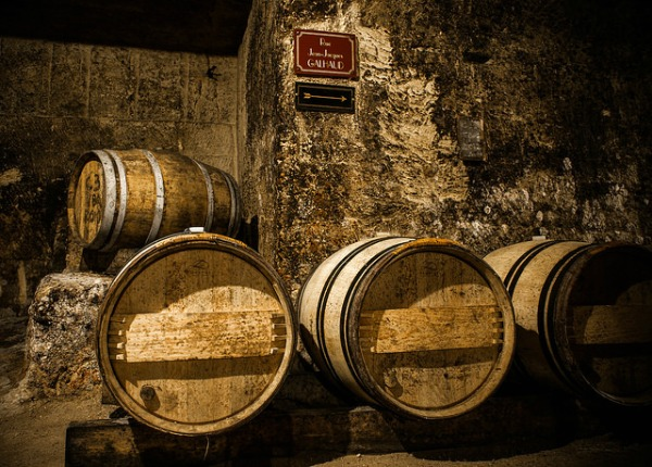 Mr & Mrs Romance - St Peter's Shiraz - barrels pic from flickr - xavier