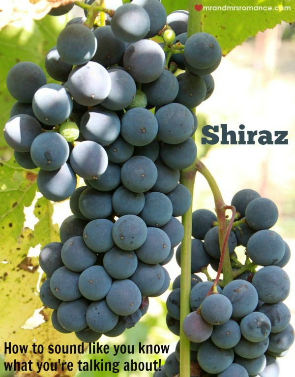 Mr & Mrs Romance - St Peter's Shiraz - grape cluster from Pixabay