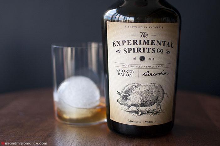Mr and Mrs Romance - Experimental Spirits Co - Smoked Bacon Bourbon