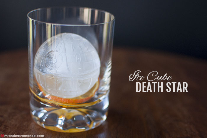Mr and Mrs Romance - Star wars death star ice cube