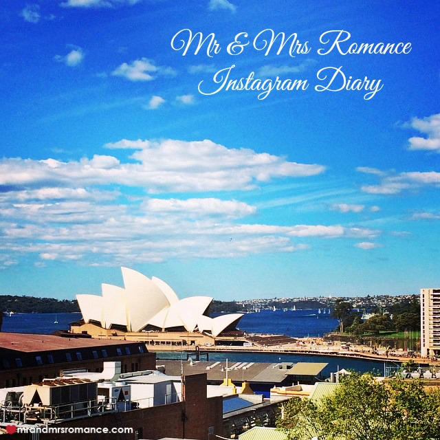 Mr & Mrs Romance - Insta Diary - 1 Sydney at her best