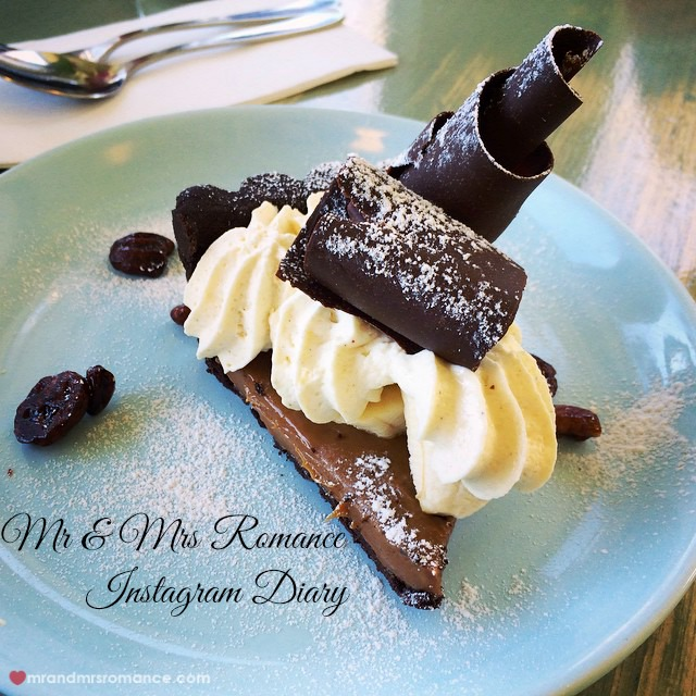 Mr & Mrs Romance - Insta Diary - 1 cakey goodness at Burnt Orange