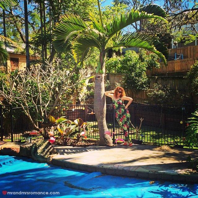 Mr & Mrs Romance - Insta Diary - 10 Queensland camo