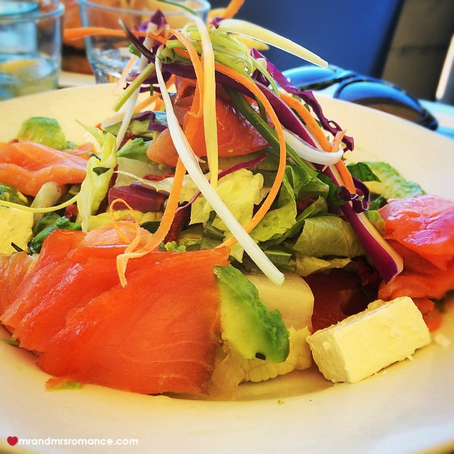 Mr & Mrs Romance - Insta Diary - 11 Mrs R's salad in Redcliffe
