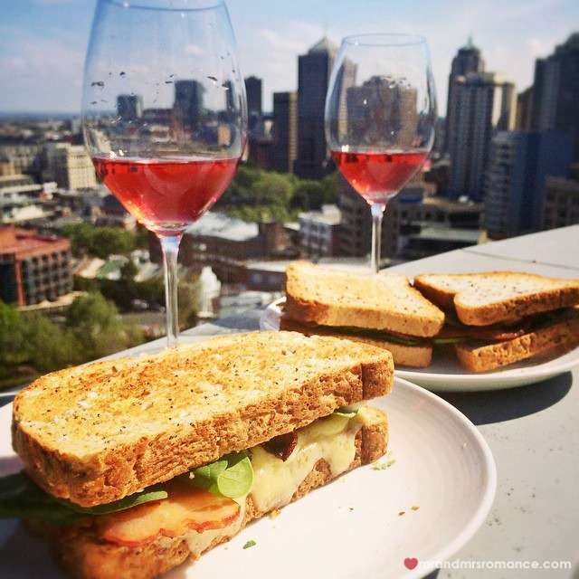 Mr & Mrs Romance - Insta Diary - 11 bacon cheese sarnies for lunch