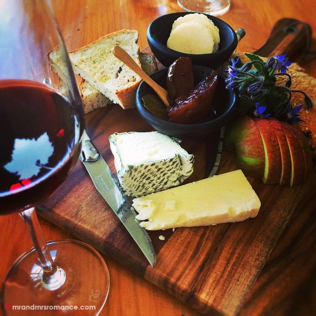 Mr & Mrs Romance - Insta Diary - 11 cheese course at Zin's degastation