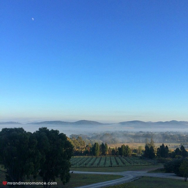 Mr & Mrs Romance - Insta Diary - 12 early morning mists at Mudgee