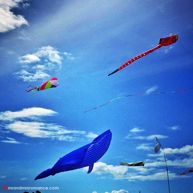 Mr & Mrs Romance - Insta Diary - 14 Kite Fest in Redcliffe
