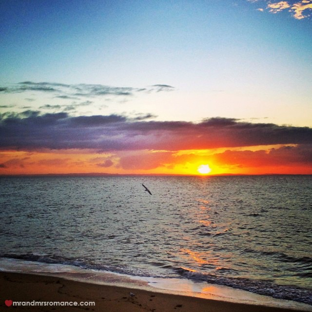Mr & Mrs Romance - Insta Diary - 15 our last Queensland sunrise