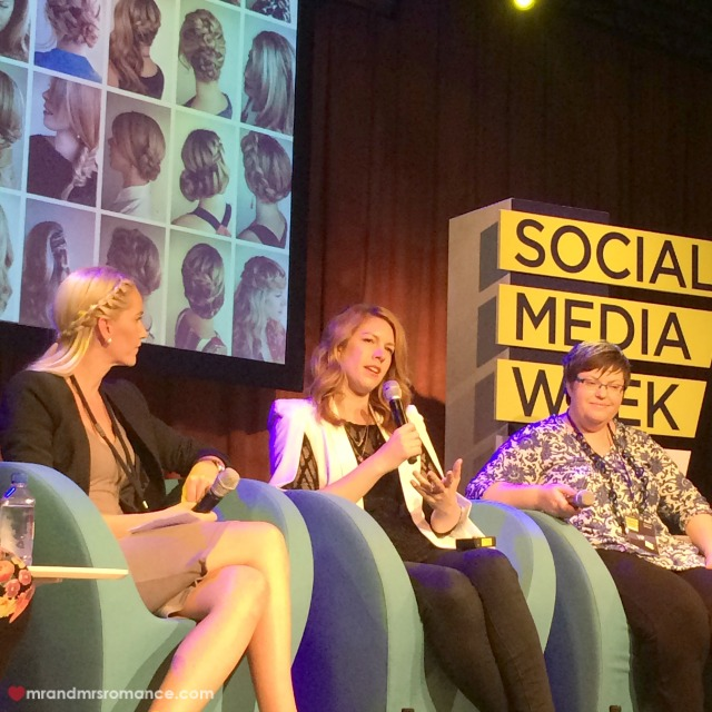 Mr & Mrs Romance - Insta Diary - 2a Mrs R speaking at SMWsyd