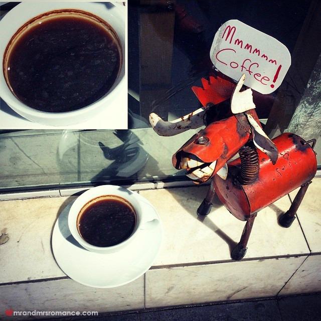 Mr & Mrs Romance - Insta Diary - 4aAB1 street 'coffee'