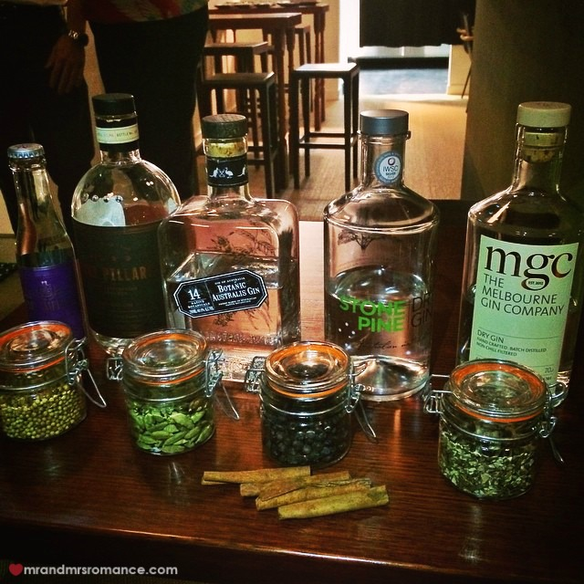 Mr & Mrs Romance - Insta Diary - 7 the Gin Queen's latest event in Dutch Courage Officer's Mess