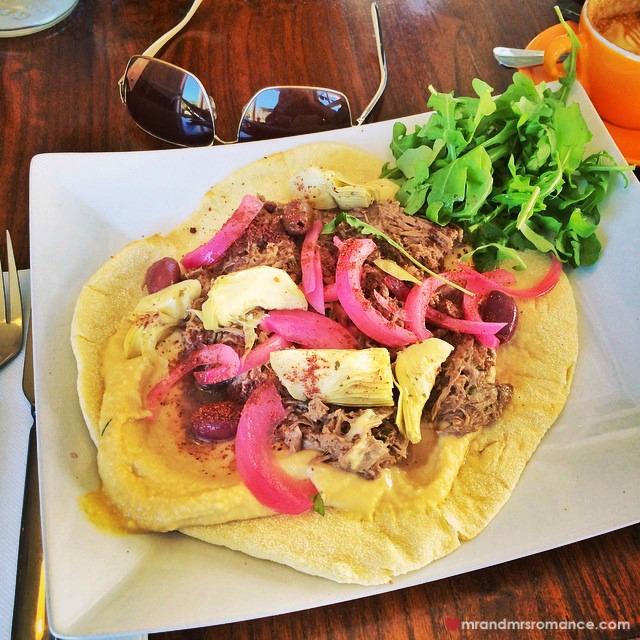 Mr & Mrs Romance - Insta Diary - 8 lunch at Shouk Cafe, Paddington