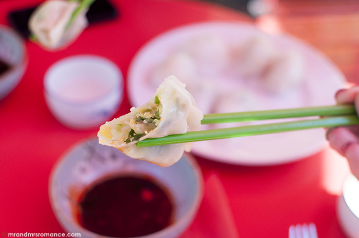 Mr and Mrs Romance - 29 Nine 99 Rylstone NSW - dumpling romance