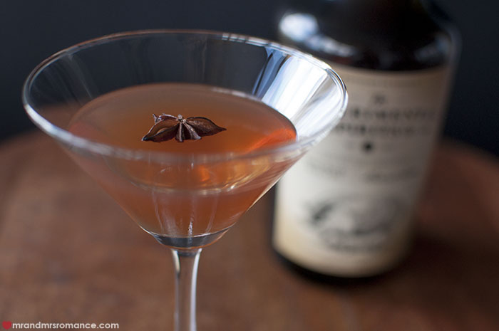 Mr and Mrs Romance - Bacon Manhattan cocktail