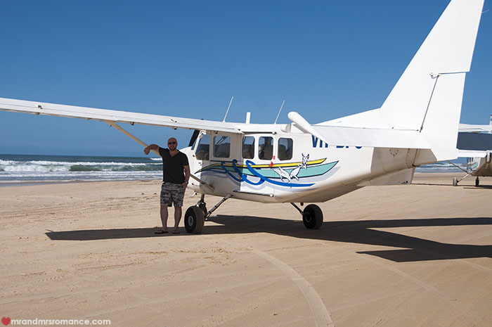 Mr and Mrs Romance - What to do on Fraser Island - scenic flight