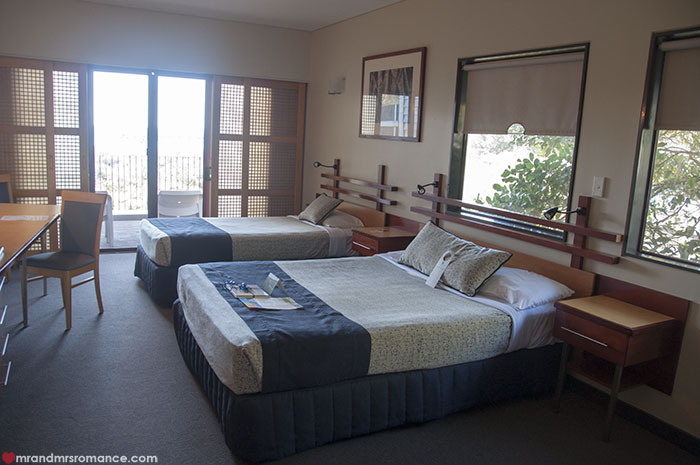 Mr and Mrs Romance - Where to stay on Fraser Island - Kingfisher Bay Resort rooms