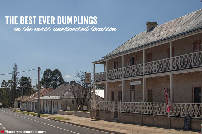 Mr and Mrs Romance - best ever dumplings in the most unexpected location - Rylstone NSW