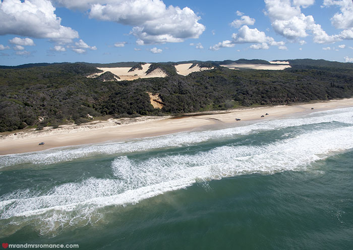Mr and Mrs Romance - travel guide - 48 hours on Fraser Island