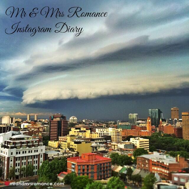 Mr & Mrs Romance - Insta Diary - 1 storm over Sydney