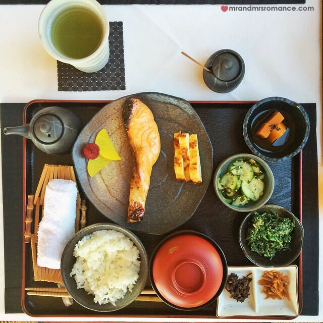 Mr & Mrs Romance - Insta Diary - 10 breakfast at Shizuka