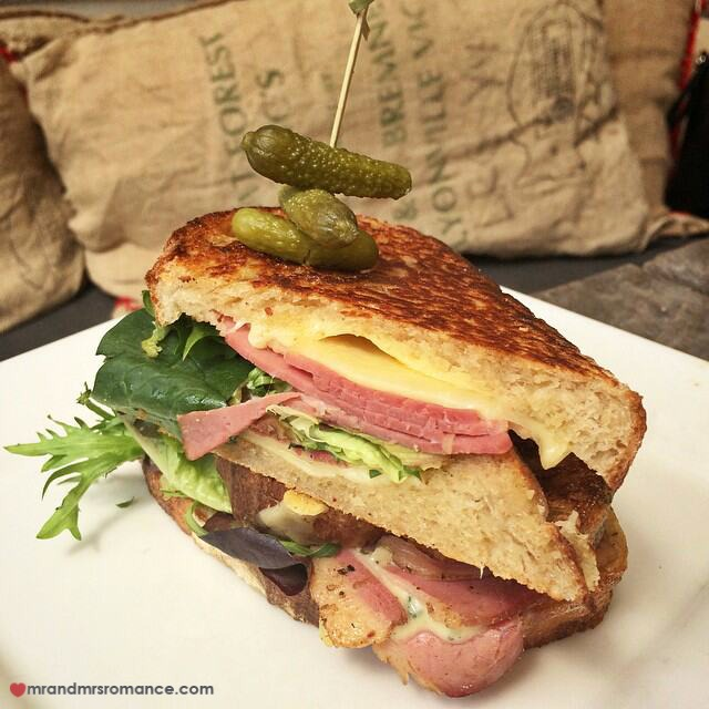 Mr & Mrs Romance - Insta Diary - 16 Reuben sandwich at Redbeard Bakery