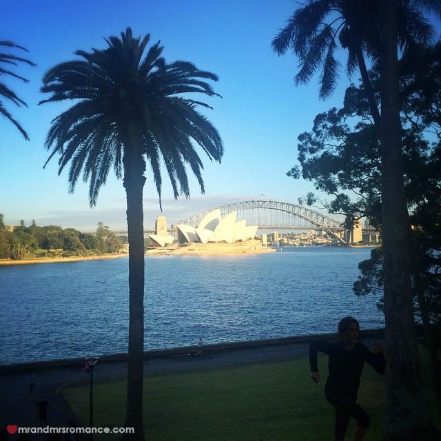 Mr & Mrs Romance - Insta Diary - 3 Mrs R on her morning run