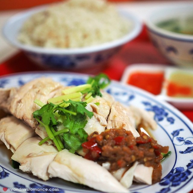 Mr & Mrs Romance - Insta Diary - 4 Hainanese chicken lunch