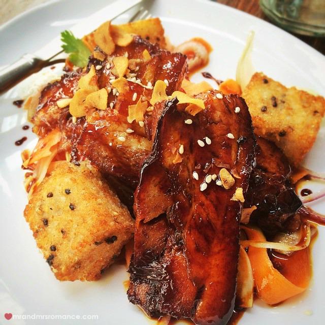 Mr & Mrs Romance - Insta Diary - 5 sticky pork at Single Origin