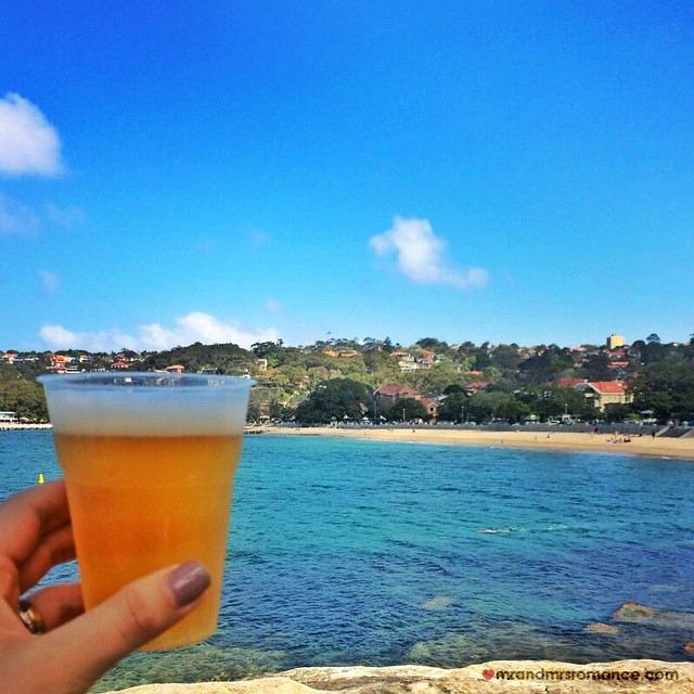 Mr & Mrs Romance - Insta Diary - 6 beery picnic at Balmoral Beach