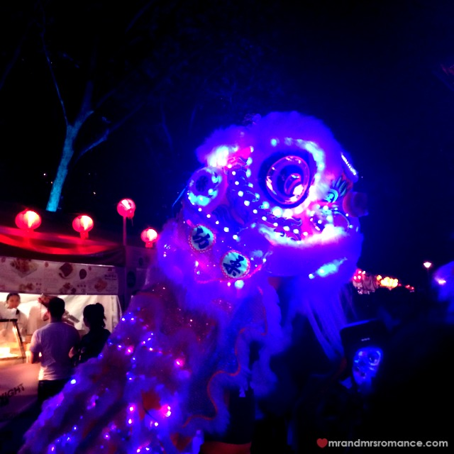 Mr & Mrs Romance - Insta Diary - 6a night noodle markets dragon