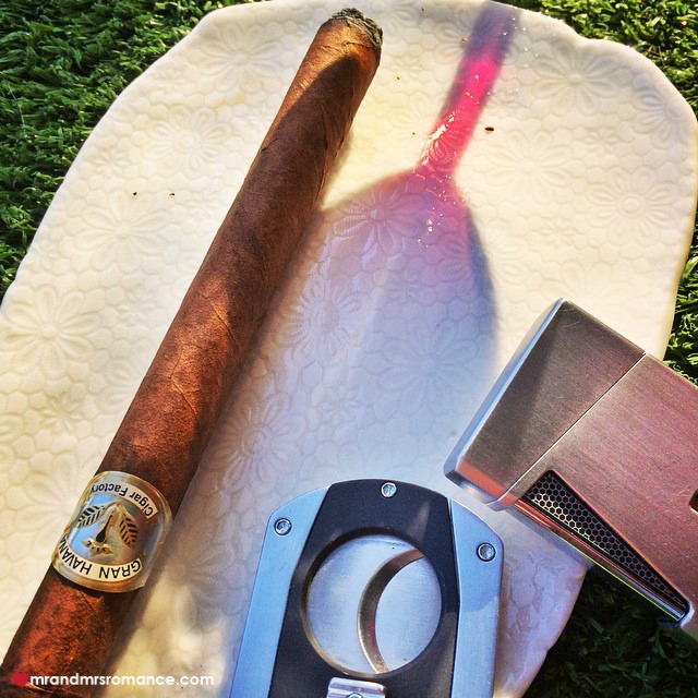 Mr & Mrs Romance - Insta Diary - 9 cigar o'clock