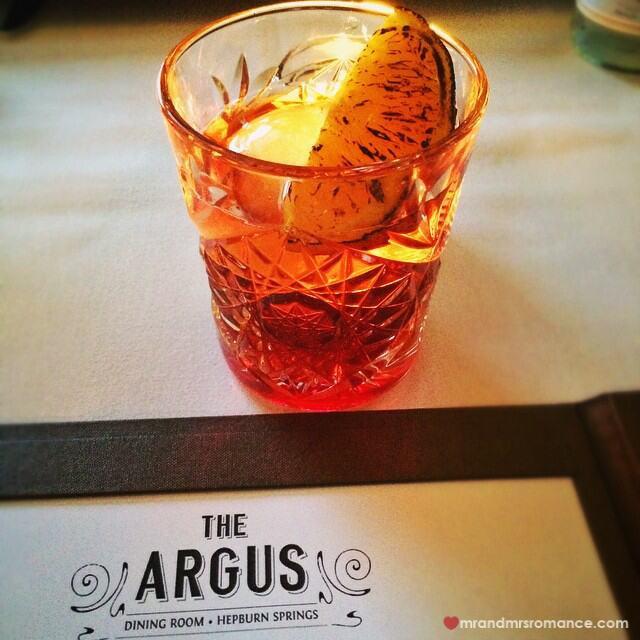 Mr & Mrs Romance - Insta Diary - 9 super negroni at Argus