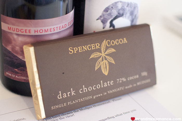 Mr and Mrs Romance Foodie Finds - Spencer Cocoa