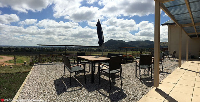 Mr and Mrs Romance - The Moothi cellar door Mudgee