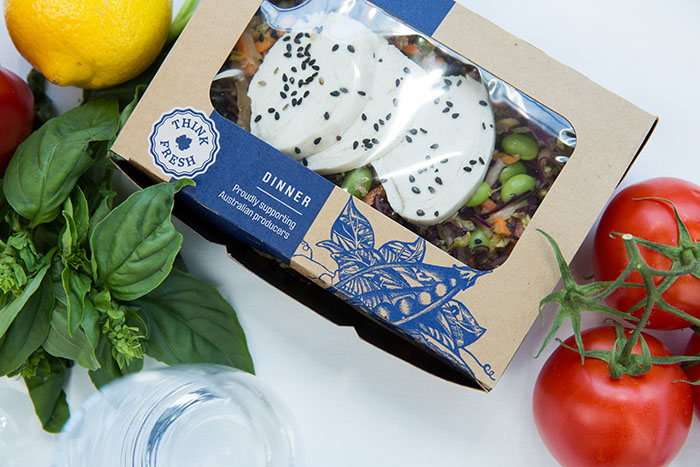 Qantas - new ecomomy dinner boxes
