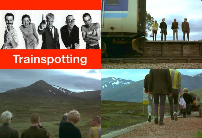 Trainspotting 1996 collage