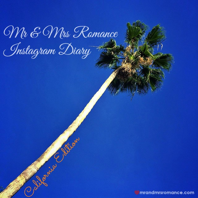 Mr & Mrs Romance - Insta Diary - 1 Cali Palm trees