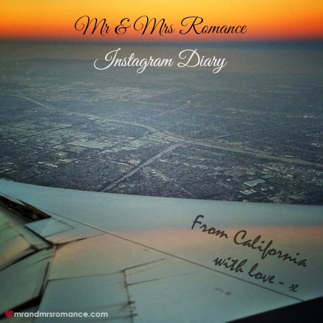 Mr & Mrs Romance - Insta Diary - 1 Sunrise over LA