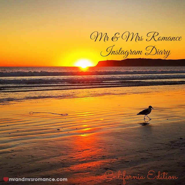 Mr & Mrs Romance - Insta Diary - 1 sunset title