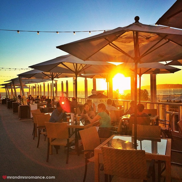 Mr & Mrs Romance - Insta Diary - 10 Sunset at Hotel del Coronado