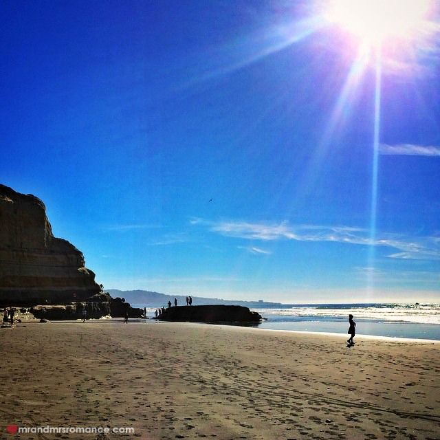 Mr & Mrs Romance - Insta Diary - 10 Torrey Pines beach