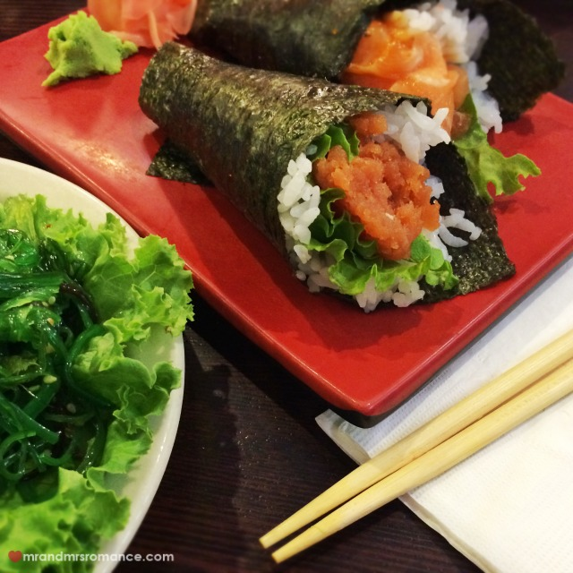 Mr & Mrs Romance - Insta Diary - 10a Mrs R's sushi