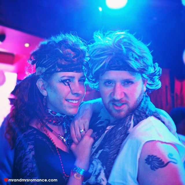 Mr & Mrs Romance - Insta Diary - 10c our Halloween costumes