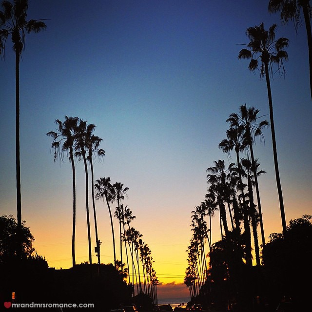 Mr & Mrs Romance - Insta Diary - 11 Cali sunset
