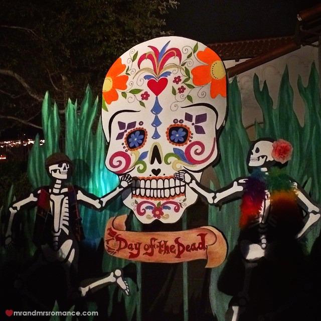 Mr & Mrs Romance - Insta Diary - 11 Dia de los Muertos