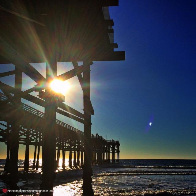 Mr & Mrs Romance - Insta Diary - 1a PB pier (Crystal Pier)